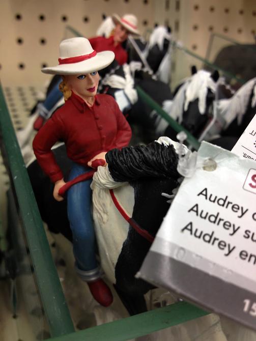 AudreyOnHorseCellShotR
